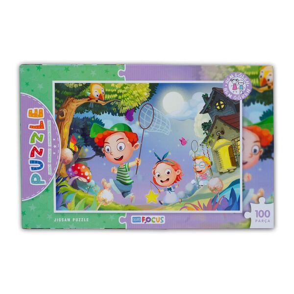 100 Parça Kutulu Puzzle (BF147)