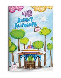 Abdest Alıyorum (Boyama Kitabı) - Thumbnail