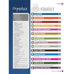 Ağustos 2018 Osmanlıca Dergisi - Thumbnail