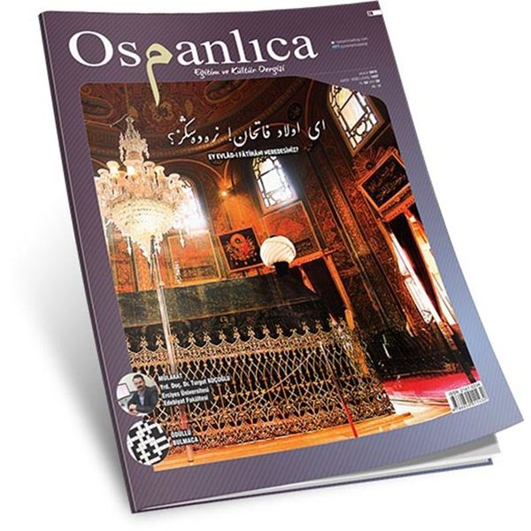 Aralık 2015 Osmanlıca Dergisi (Sayı:28)