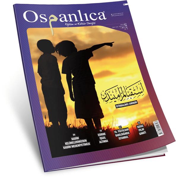 Aralık 2018 Osmanlıca Dergisi