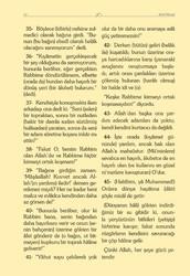 Çanta Boy Kadife Mealli Yasin Cüzü (Mavi) - Thumbnail