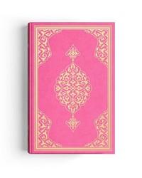 Çanta Boy Renkli Kur'an-ı Kerim (Meklepli, Pembe, Mühürlü, 2 Renkli) - Thumbnail