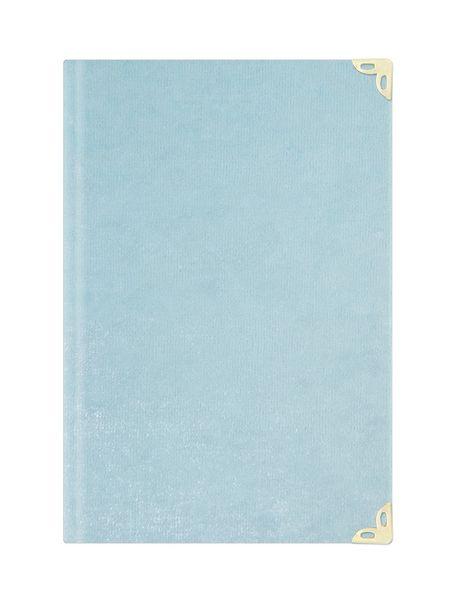 Çanta Boy Süet Mealli Yasin Cüzü (Bebe Mavisi, Elifli-Vavlı)