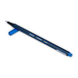 Ceo Fineliner 0.4 mm Koyu Mavi Kalem - Thumbnail