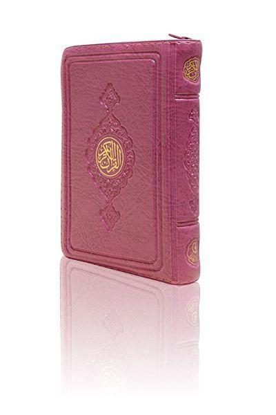 Cep Boy Kur'an-ı Kerim (Lila Renk, Kılıflı, Mühürlü)