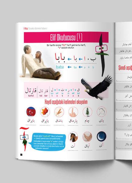 Çocuklar İçin Osmanlıca Eğitim Seti (12 Kitap)