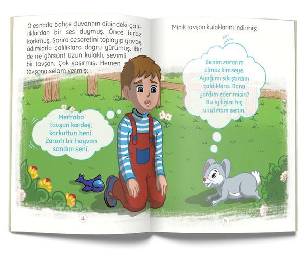 Çılgın Tavşan - Yardımlaşma (Çanta Boy)