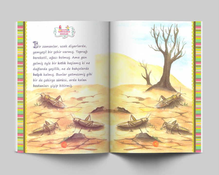 Dualarla Yardimlasma Oykuleri Osmanlica Okuma Kitaplari Rika Yayinlari