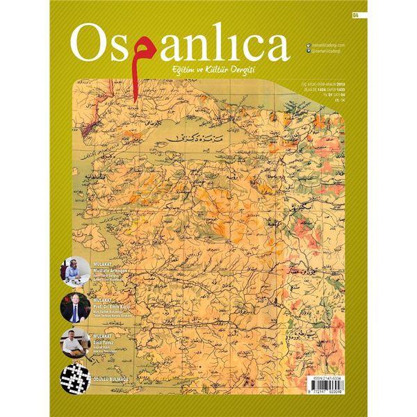 Ekim 2013 Osmanlıca Dergisi (Sayı:4)