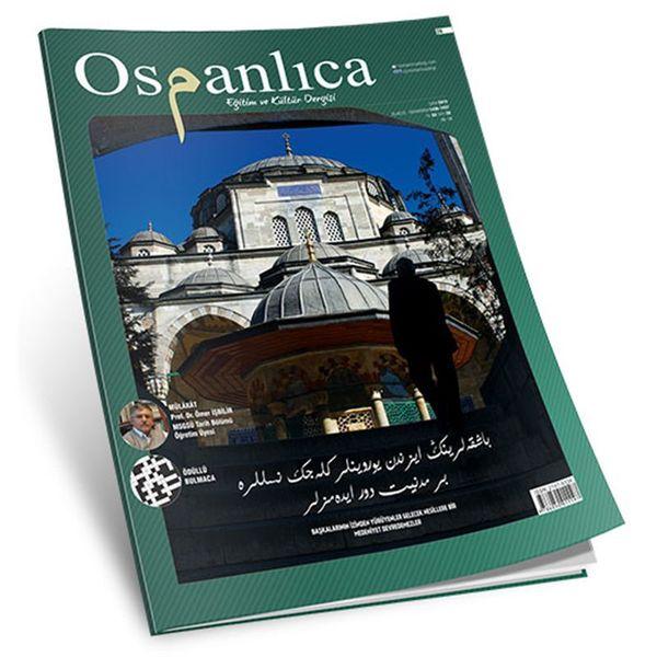Ekim 2015 Osmanlıca Dergisi (Sayı:26)