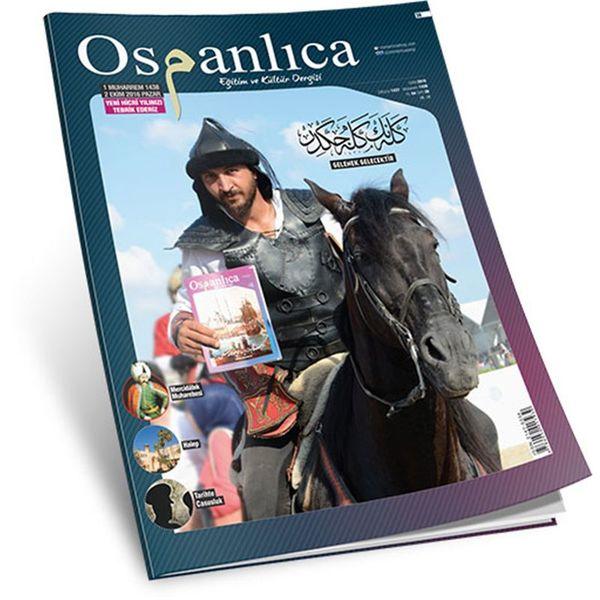 Ekim 2016 Osmanlıca Dergisi