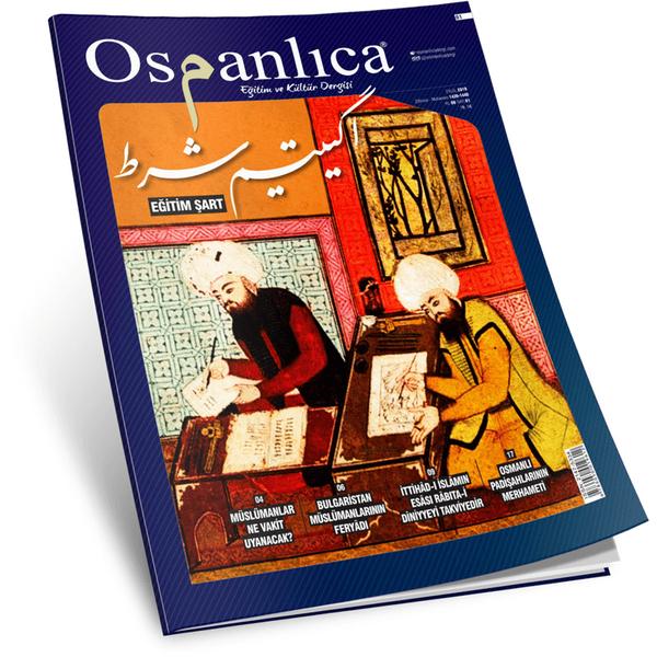 Eylül 2018 Osmanlıca Dergisi