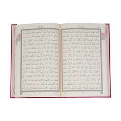 Hafız Boy Beşli Cüz Kuran-ı Kerim (İki Renkli, Özel Kutulu, Mühürlü) - Thumbnail