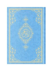 Hafız Boy Resm-i Osmani Kur'an-ı Kerim (Mavi, Mühürlü) - Thumbnail