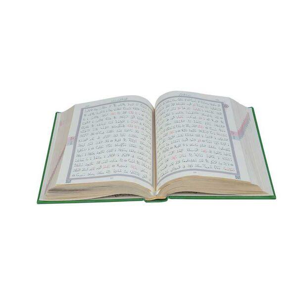 Hafız Boy Termo Deri Kuran-ı Kerim (Fıstık Yeşil, Mühürlü)