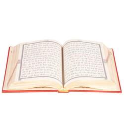 Hafız Boy Termo Deri Kuran-ı Kerim (Kırmızı, Mühürlü) - Thumbnail