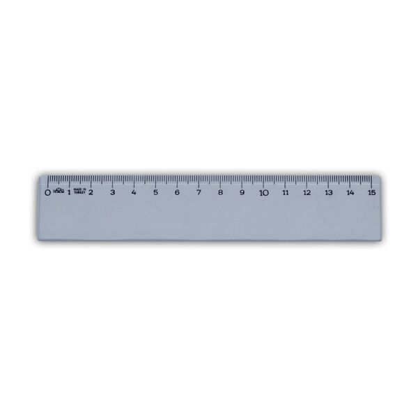 Plastik Cetvel 15 cm