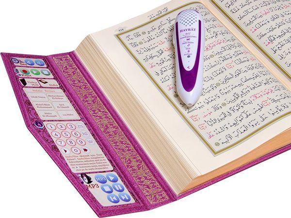 Hayrat Kur'an Kalemi, Kur'an Okuyan Kalem Kur'an (Lila-Orta Boy)