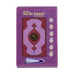 Kuran Okuyan Kalem Seti (Lila, Orta Boy, Karton Kutulu) - Thumbnail