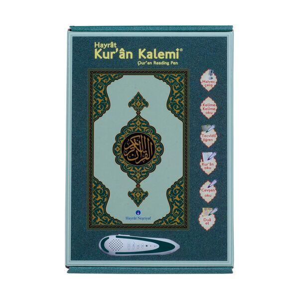 Kuran Okuyan Kalem Seti (Yeşil, Rahle Boy, Karton Kutulu)