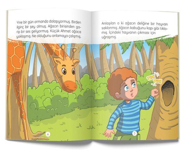 Küçük Ahmet ile Dumani - Hayvan Sevgisi (Çanta Boy)