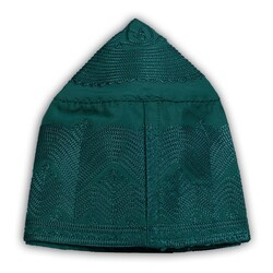 Kumaş Takke Özel Seri (Koyu Yeşil, 58 Numara) - Thumbnail