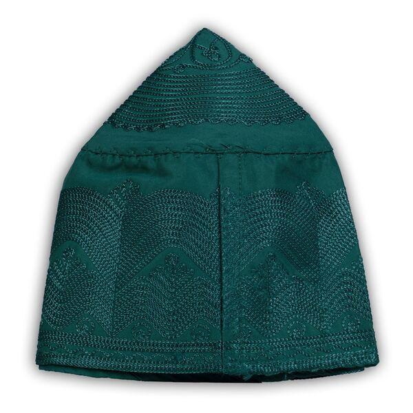 Kumaş Takke Özel Seri (Koyu Yeşil, 60 Numara)