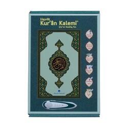Kuran Okuyan Kalem Seti (Yeşil, Cami Boy, Karton Kutulu) - Thumbnail