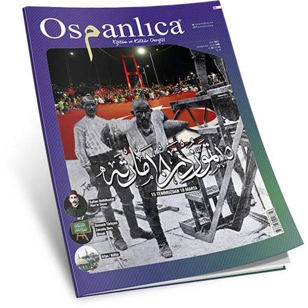 Mart 2017 Osmanlıca Dergisi