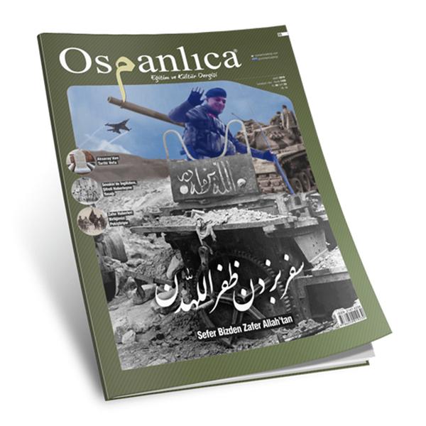 Mart 2018 Osmanlıca Dergisi