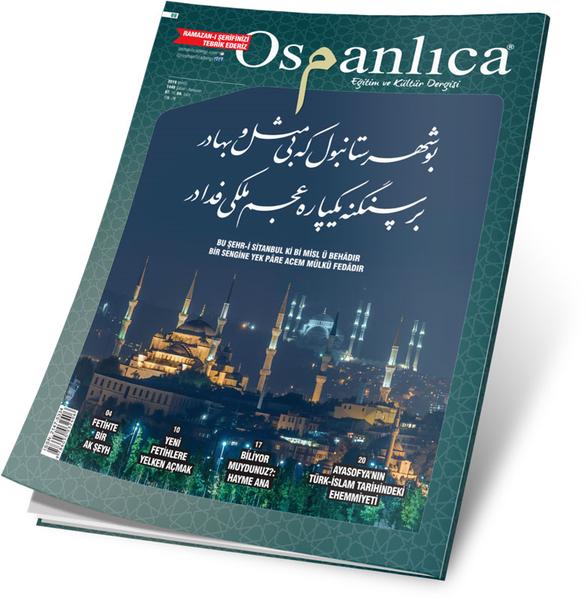 Mayıs 2019 Osmanlıca Dergisi