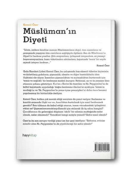 Müslüman'ın Diyeti