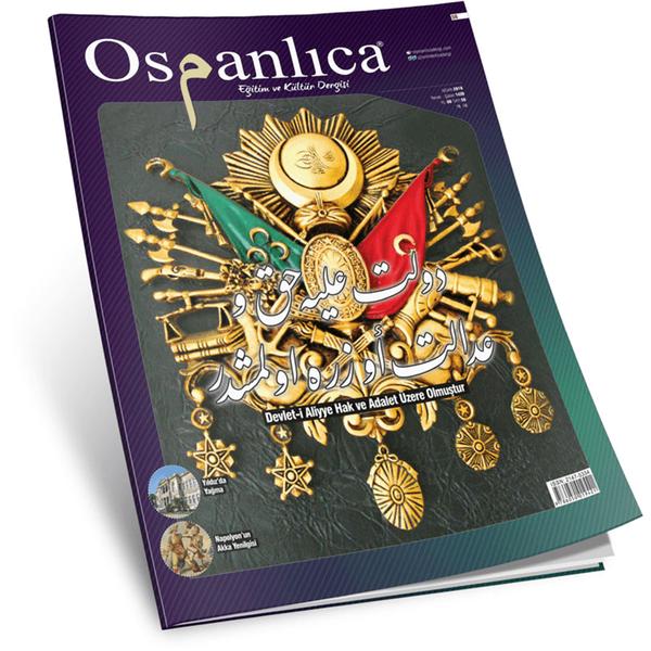 Nisan 2018 Osmanlıca Dergisi