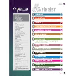 Nisan 2018 Osmanlıca Dergisi - Thumbnail