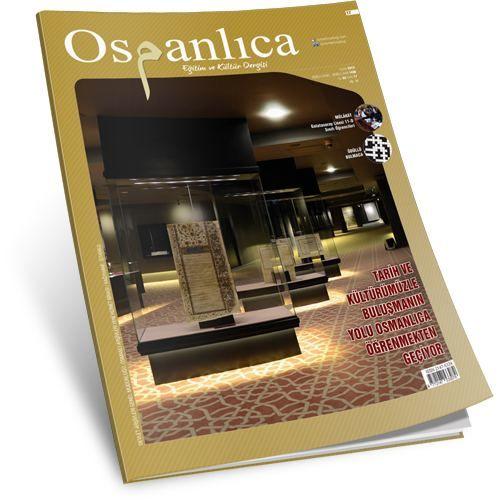 Ocak 2015 Osmanlıca Dergisi (Sayı:17)