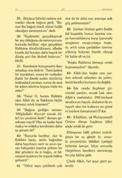 Orta Boy Kadife Mealli Yasin Cüzü (Mavi) - Thumbnail