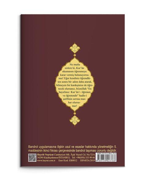Orta Boy Kur'an Elifbası