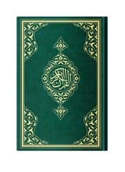 Orta Boy Resm-i Osmani Kur'an-ı Kerim (Özel, Yeşil Kapak, Mühürlü) - Thumbnail