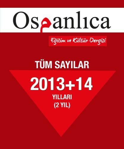 Osmanlıca Dergi 2013+2014 Sayıları (Tümü)