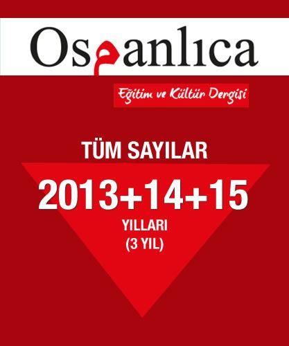 Osmanlıca Dergi 2013+2014+2015 Sayıları (Tümü)