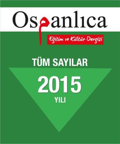 Osmanlıca Dergi 2015 Sayıları (Tümü)