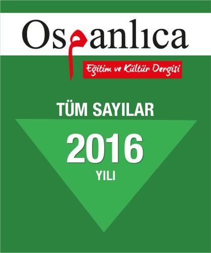 Osmanlıca Dergi 2016 Sayıları (Tümü)