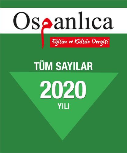 Osmanlıca Dergi 2020 Sayıları (Tümü)