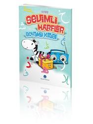 Sevimli Harfler Boyama Kitabı - Thumbnail