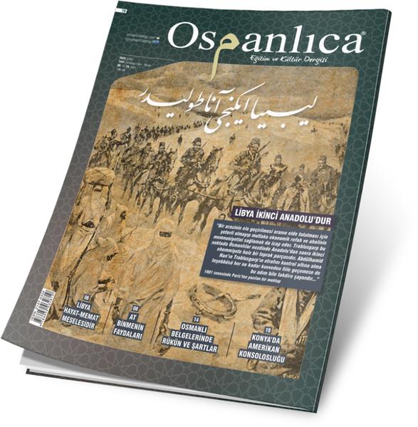 Şubat 2020 Osmanlıca Dergisi
