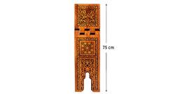 Yakmalı Ahşap Rahle (Battal Boy - 75 cm) - Thumbnail