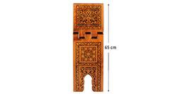 Yakmalı Ahşap Rahle (Büyük Boy - 65 cm) - Thumbnail