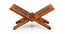 Yakmalı Ahşap Rahle (Mini Boy - 35 cm) - Thumbnail