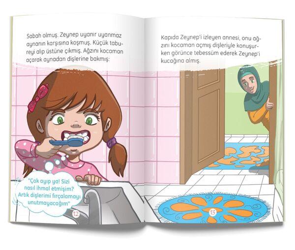 Zeynep'in Dişleri - Sağlık (Çanta Boy)